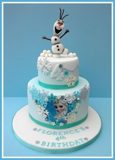 First Frozen Cake!! - Cake by Gillw101