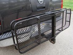 Trailer Hitch Luggage Rack Pleasing Folding Cargo Carrier Luggage Basket 2'' Receiver Hitch Truck Suv Inspiration Design