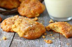 Minkšti obuolių sausainiai