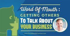 Do you want grow your business with word of mouth so that more people talk about your brand or business? Want to learn the art of word-of-mouth marketing? Here is an exclusive interview to help you get started with word-of-mouth marketing now! ►http://www.facebook.com/cmhconsultants/