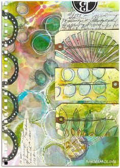 Art Journal Page - 13 by Roben-Marie Smith, via Flickr