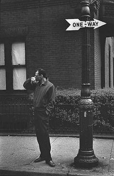Elliott Erwitt | Arthur Miller, New York 1954
