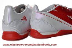 Discounts White Red Adidas F10 TRX IC