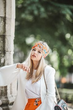 How to wear the turban in a summer outfit