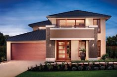 Explore Our Extensive Range of New Home Designs in Melbourne. Each New Home Offers Something a Little Different in Terms of Home Design, Options and Budget. Style At Home, Simonds Homes, Facade Design, House Design, Display Homes, New Home Designs, Facade House, Finding A House, House Floor Plans
