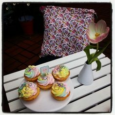 Spring:  sunshine and cupcakes