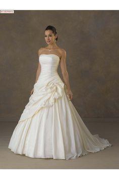 Wedding Dress Shops Southampton-Draped A-Line Wedding Gowns weddingdresses0670A - Weddingdressgood.com