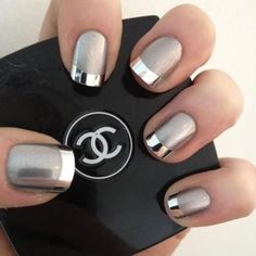 i like the matte silver then it changes into the metallic  silver......pretty cool