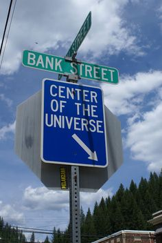 Center of the Universe - Wallace, Idaho I'm gonna go visit..cause what else is there to do?!?