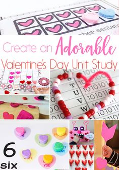 Lovely Ideas For A Fabulous Valentine Unit Study