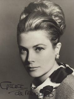 This is Princess Grace of Monaco...formerly Grace Kelly I posted it under Golden era Actresses but she was no longer an actress but she was an amazing and beautiful actress, talented and her movies were wonderful and I am sure she made a noble Princess of Monaco...who sadly died way too soon..now her only son Prince Albert and his wife Charlene became parents of twins.. Gabrielle and Jaques..she would have had 10 grandchildren and 2 great grand children by now xo