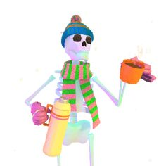 Find the best & newest featured jjjjjohn GIFs. Search, discover and share your favorite GIFs. The best GIFs are on GIPHY. Funny Skeleton, Skeleton Art, Aesthetic Colors, Aesthetic Gif, Pin On, Spooky Scary, Gifs, Cute Characters, Skull Art