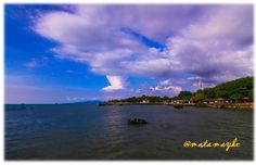 lovely sky, anyer, indonesia
