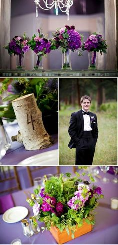 #purple #wedding #idea https://www.facebook.com/DreampurpleUK