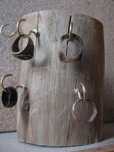 colgador de anillos...