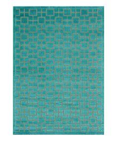 Simple and stylish. One of the best things about this fashionable rug is that it works in any room in the house. The on-trend hue adds a cool palette to the living room and a trendy touch in a bedroom. Make a space more serene with this contemporary floor covering.--$44.99 today