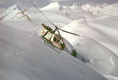 helicopter skiing history