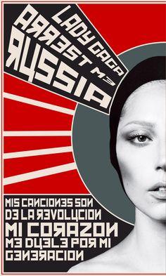 Construtivismo Russo Americano - Lady Gaga