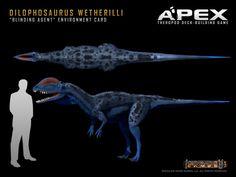 Dilophosaurus wetherilli by Herschel-Hoffmeyer on deviantART