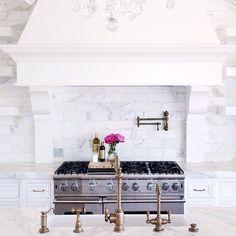 pink peonies kitchen - Google Search