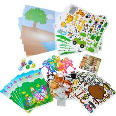 Wedding Table Activity Set for 6 Children ages 3 - 7