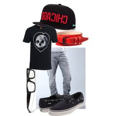 """Boyfriend Clothing 3"" by dropdead on Polyvore"