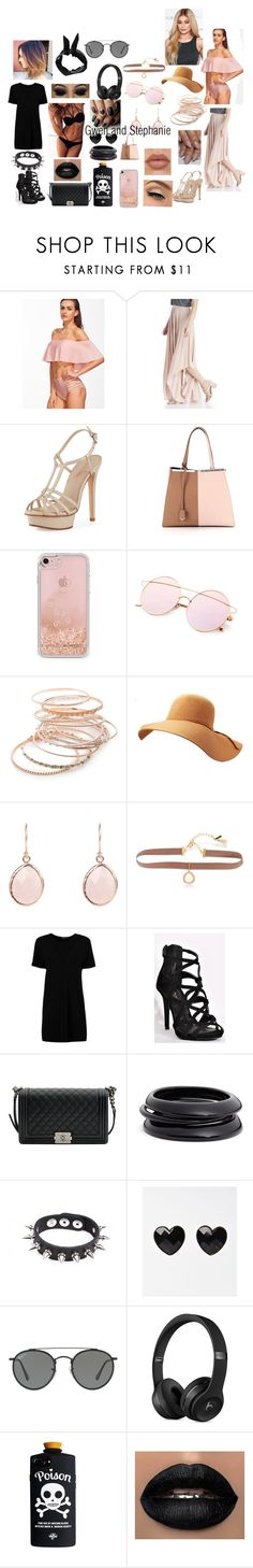 """Beach Days"" by geekofgalifrey ❤ liked on Polyvore featuring Dolce Vita, Pelle Moda, Fendi, Rebecca Minkoff, Red Camel, Lonna & Lilly, Boohoo, Chanel, ZENZii and Apex"