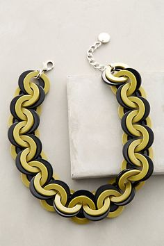 Barri Link Necklace #anthropologie