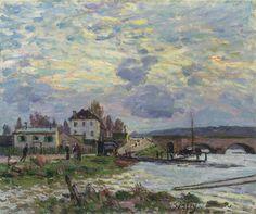 The Athenaeum - Le Pont de Sevres (Alfred Sisley - )