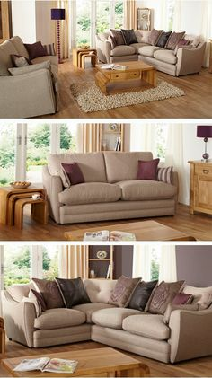 The stunning Oakland range from ScS #sofas #style