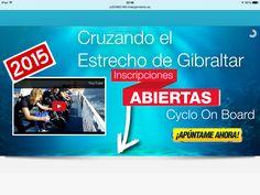 Inscripción abierta en: http://www.cruzandoelestrecho.com