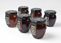 Packaging by Coba Associates for a new range of preserves from Rakia, a bar located in the centre of Belgrade that offers a mix of local and exclusive coffees, spirits and snacks, which has expanded to include a gift-shop which sells a variety of high quality, traditional own label ranges.