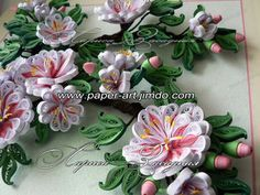 quilling on wall - Google Search