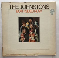 THE JOHNSTONS BOTH SIDES NOW VINYL 1968 TETRAGRAMMATON RECORDS FREE SHIPPING LP