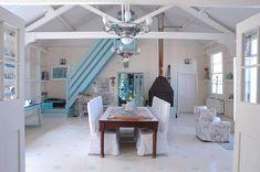 Cool cottage interior