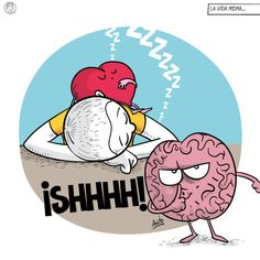 Heart Vs Brain, Heart And Mind, My Heart, Cute Comics, S Quote, Laugh Out Loud, Funny Quotes, Geek Stuff, Snoopy