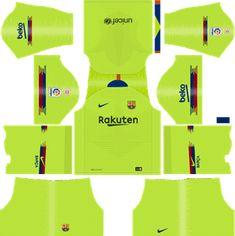 724b95528 Barcelona Away Kit 2018-19 Dream League Soccer Kits URL 512x512 Real Madrid  Kit