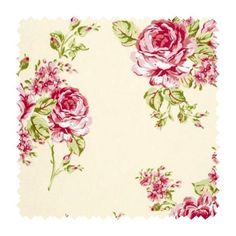 Clarke and Clarke Fabric 1 Flora Chintz Modern Classics Cotton United Kingdom see sample Horizontal: 17 inches and Vertical: 25 inches 53 inches - My Fabric Connection - Shabby Chic Office, Shabby Chic Decor, Shabby Chic Table And Chairs, Shabby Chic Furniture, Clarke And Clarke Fabric, Vintage Rosen, Vintage Floral Fabric, Vintage Fabrics, Chintz Fabric