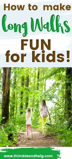 How to make walking outdoors fun for kids. Fun kids ideas for an amazing hike with kids. Walking games and walking tips and tricks for families with kids. How to motivate kids on a long walk. Forest School Activities, Nature Activities, Outdoor Activities For Kids, Outdoor Learning, Motor Activities, Summer Activities, Outdoor Play Areas, Outdoor Fun, Cool Kids