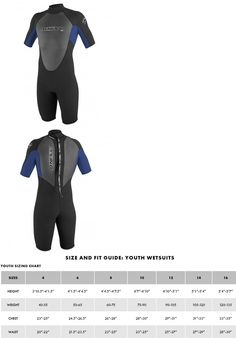 Youth 47355: O Neill Reactor 2Mm Spring Wetsuit - Youth - Black Pacific - 14 -> BUY IT NOW ONLY: $69.99 on eBay!