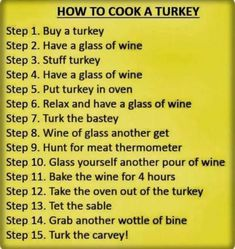 Happy Thanksgiving weekend to my Canadian friends! Just in case you are planing on cooking a turkey, I'll just leave this right here for you. Thanksgiving Quotes, Thanksgiving Turkey, Happy Thanksgiving, Christmas Turkey, Thanksgiving Recipes, Thanksgiving Projects, Fall Recipes, Yummy Recipes, Turkey In Oven
