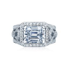 A beautiful new style from Tacori. From the RoyalT collection.