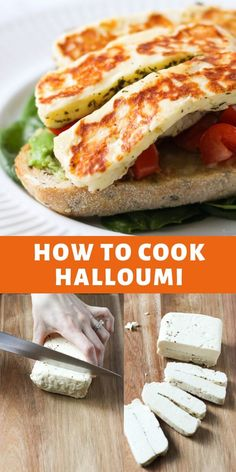 Recipes Snacks Savoury An easy guide to how to cook halloumi with plenty of tips and tricks. Also filled with delicious halloumi recipes to help you use your block up! Halloumi Cheese Recipes, Baked Halloumi, Cooking Halloumi, Haloumi Cheese, Vegetarian Recipes, Cooking Recipes, Healthy Recipes, Cooking Tips, Easy Cooking