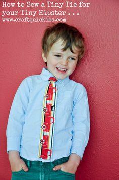 fafb91dceb39 FREE PRINTABLE Original Boys Neck Tie Pattern