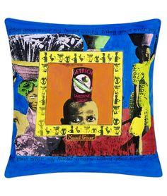 MAUD Interiors African cushion