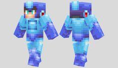 Megaman Skin para Minecraft