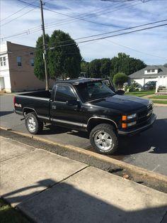 Chevrolet Trucks, Lifted Trucks, Chevy Trucks, Pickup Trucks, Z71 Truck, 1994 Chevy Silverado, Single Cab Trucks, Dropped Trucks, Chevy 1500