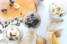 3 OVERNIGHT PORRIDGES : le petit-déjeuner parfait qui t'accompagne dans ta rentrée
