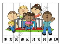 8 Back to School Number Order Puzzles FREEBIE from Klever Kiddos on TeachersNotebook.com (8 pages)