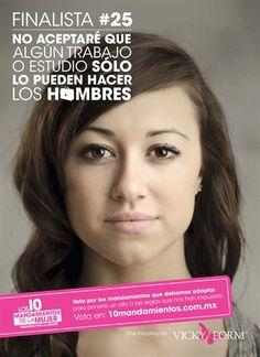 COEDUCACIÓN: Campaña publicitaria sobre la mujer en México